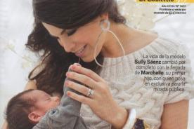 Sully Sáenz protagoniza tiernas fotos con su hijo para la revista Somos