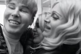 Clones de Jennifer Lawrence y Justin Bieber crean divertida parodia- Video
