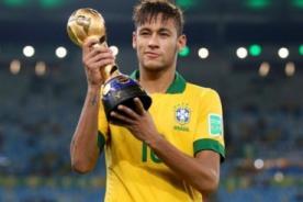Neymar sorprende al confesar su favorito para la final del Mundial 2014