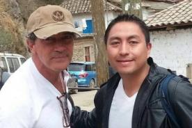 Antonio Banderas en Perú: Actor se encuentra de visita en Cusco