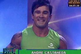 Bienvenida la Tarde: André Castañeda pasa tremendo roche en su primer día [VIDEO]