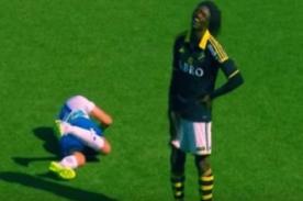 ¡Jugador es víctima de burlas por fintoso! - VIDEO