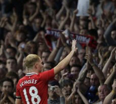 Paul Scholes le dijo adiós al fútbol con un golazo (Video)