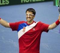Copa Davis: Serbia recorta distancia ante Argentina