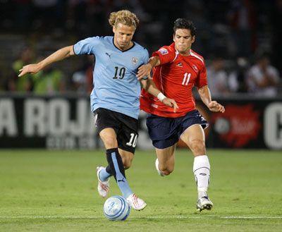 En vivo:  Uruguay vs Chile (1 - 1) - Copa América 2011 – Minuto a Minuto