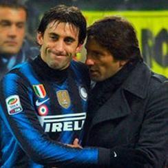 Inter de Milán: Diego Milito se lesiona y estará un mes fuera de las canchas