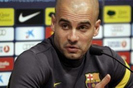 Josep Guardiola: Si nos confiamos en la ventaja Madrid nos eliminará