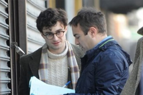 Fotos: Daniel Radcliffe con renovado look para el filme Kill Your Darlings