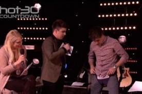 Liam Payne se probó un calzoncillo en programa australiano