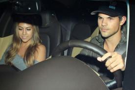 Taylor Lautner tuvo cita con un viejo amor de su escuela (Fotos)