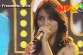 Yo Soy: Imitadora de Myriam Hernández convence al jurado - Video