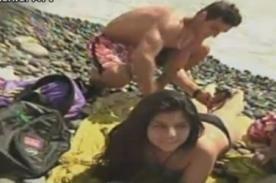 Combate: Participantes cumplieron reto de 'bronceado' en la playa - Video