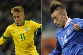 Italia vs Brasil en vivo (2-2) - Amistoso Internacional FIFA