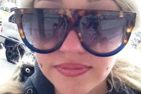 Amanda Bynes muestra su segundo piercing en la mejilla