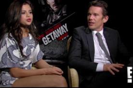 Selena Gomez enseña a Ethan Hawke cómo hacer 'twerking'
