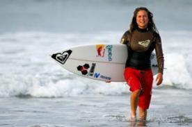 Surf: Sofía Mulanovich se despide del Circuito Mundial
