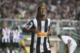 Ronaldinho si podría jugar el Mundial de Clubes con Atlético Mineiro