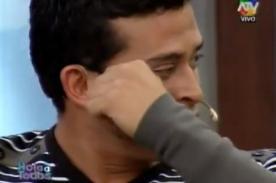 Christian Domínguez se quiebra al sentirse acosado por la prensa - Video