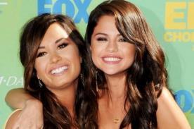 Selena Gomez y Demi Lovato defienden su amistad con divertida foto