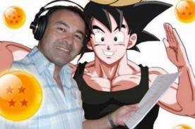 Imagen de Mario Castañeda (voz de Gokú) es usada para estafar personas
