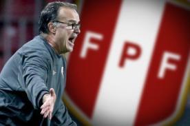 FPF: Marcelo Bielsa ha pedido referencias a ex entrenadores de la selección peruana