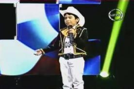 YSK: Niño impresiona al jurado con imitación de Pedro Fernández - VIDEO