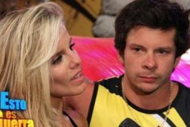 EEG: Alejandra Baigorria le provocó lesión a Mario Hart - VIDEO