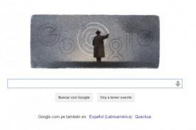 Octavio Paz es homenajeado por Google a 100 años de su nacimiento