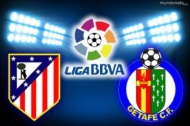 Atlético de Madrid vs. Getafe: Transmisión en vivo por ESPN - Liga BBVA