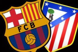 Liga BBVA: Atletico de Madrid vs Barcelona - En vivo por ESPN
