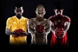 Brasil 2014: Adidas criticada por publicidad sangrienta sobre el Mundial