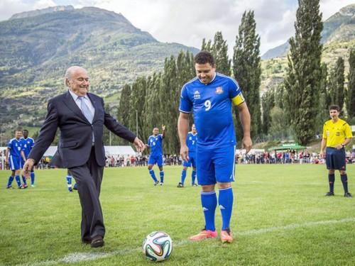 Ronaldo regresó a las canchas para partido amistoso en Suiza