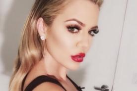Khloe Kardashian olvidó usar lencería