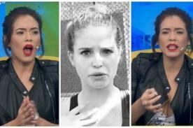 ¿En serio?: ¿Jazmín Pinedo defiende a Flavia Laos por frase racista? - FOTO