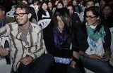 Gianella Neyra y Christian Rivero fueron juntos a concierto romántico