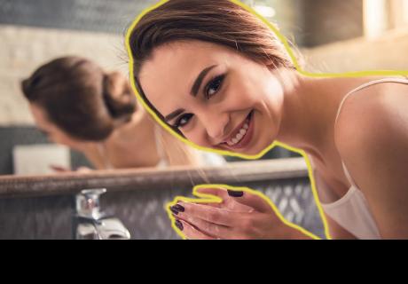 ¿Lavarse la cara con agua con gas es el secreto de cutis perfecto?