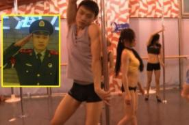 De policía a bailarín de pole dance