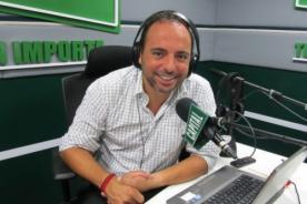 Marcos Llunas: Me volvería loco si cantase con Juan Diego Flores