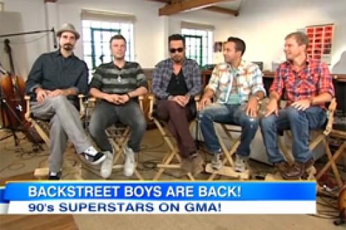 Video: Backstreet Boys anuncian nuevo álbum y concierto en Nueva York