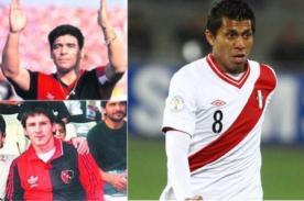 Rinaldo Cruzado llevará la 10 que usaron Diego Maradona y Lionel Messi