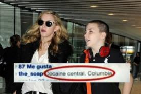 Hijo de Madonna causa polémica en redes sociales por agresiva frase