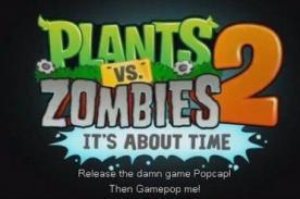 Plantas vs Zombies 2: Nuevo tráiler del juego -  Video