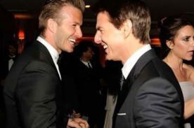 Tom Cruise quiere hacer de David Beckham un actor de Hollywood