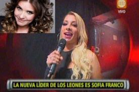 Sofía Franco reemplaza a Johanna San Miguel en 'Esto es Guerra'