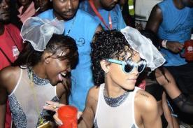 Rihanna tuvo celebración salvaje en carnaval de Barbados - Fotos