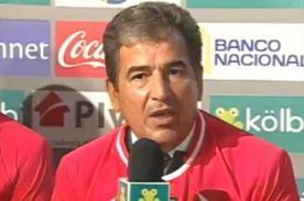 Jorge Luis Pinto: El jugador de Costa Rica es más sano que el peruano