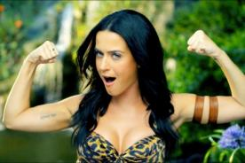 Katy Perry responde a PETA por acusación de maltrato animal en 'Roar'