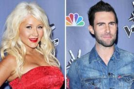 Christina Aguilera: Adam Levine es deliciosamente competitivo