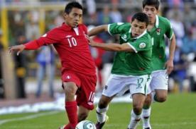 Selección de Bolivia llegó a Lima para enfrentar a Perú