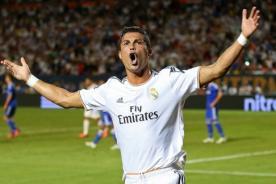 Video: Cristiano Ronaldo hace curioso gesto y se lo dedica a Blatter